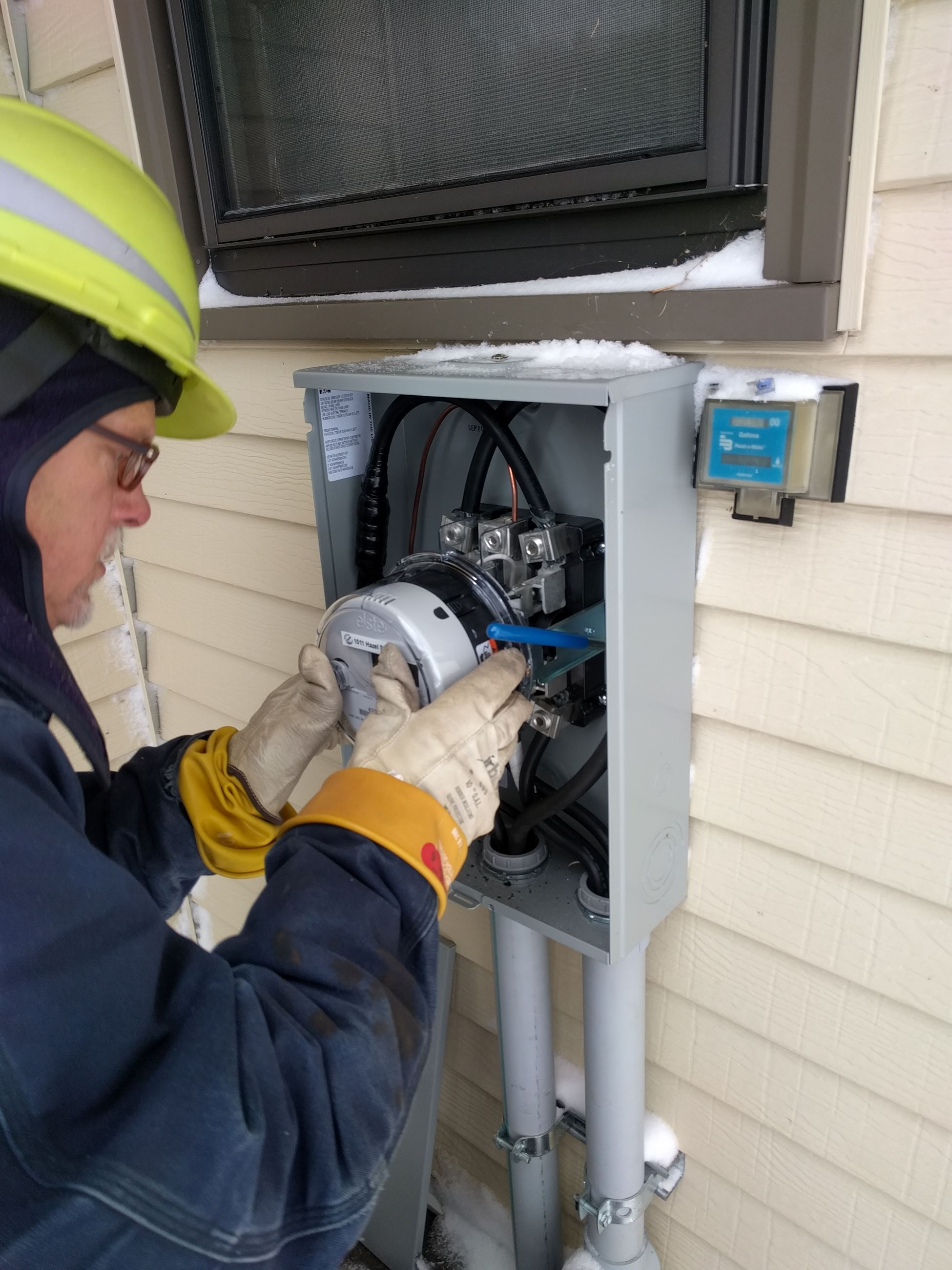 Installation of Meter