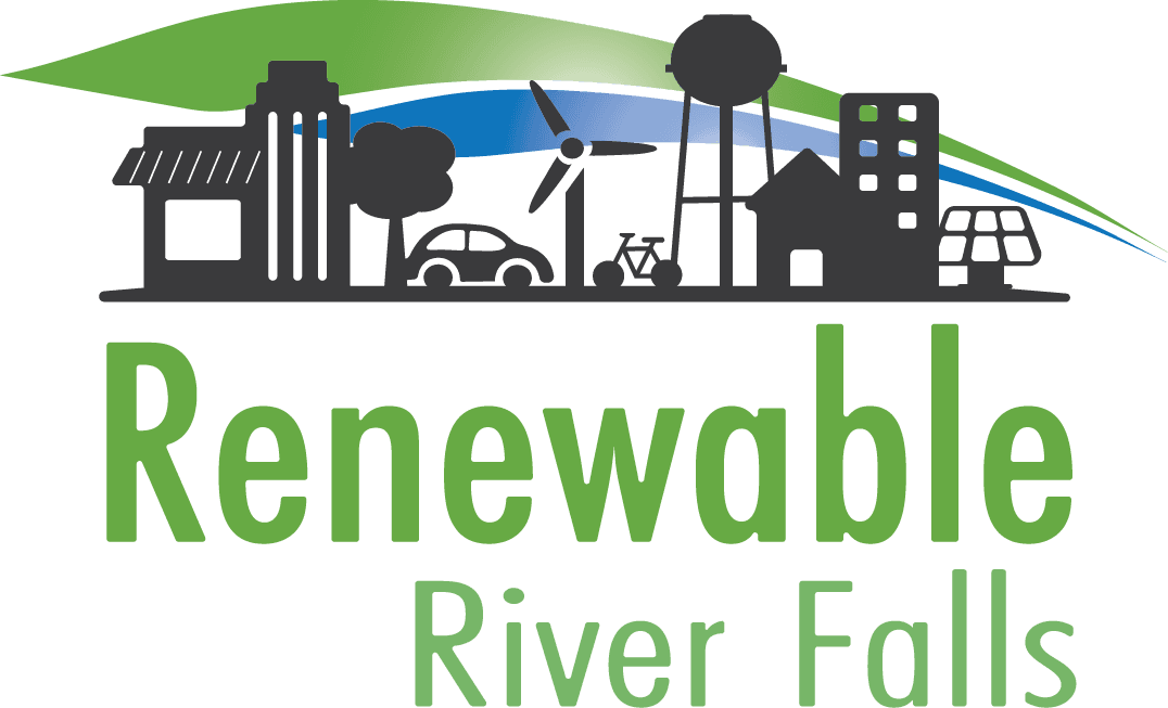 Renewable River Falls Logo