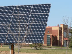 Photovoltaic Panel at River Falls High School